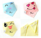 Baby Boys Girls Newborn Bibs Burp Cloths Smile Saliva Towel Feeding Bandana