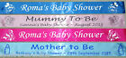 BABY SHOWER party, Mum to Be PERSONALISED BANNER *Fast Despatch*