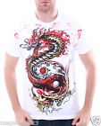 Artful Couture T-Shirt Tattoo Rock AW70 Sz M L XL XXL Dragon Biker Rider Street