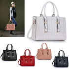 Ladies Patent Quilted Bag With Buckle Detail Tote Bags Women's Fashion Handbags