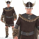 Adult Mens Classic Viking Warrior Stag Night Halloween Fancy Dress Costume