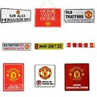 MANCHESTER  UNITED METAL SIGNS (Metal Door Sign,Street Sign)Official Merchandise