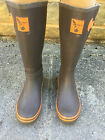 Evercreatures Terracotta Festival Wellies Wellington Boots - Brand New