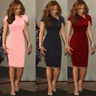 Celebrity Office Work Women's Formal Career Business Party Wiggle Pencil Dress