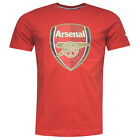 Puma AFC Arsenal Football Club Crest Fan Red MensT-Shirts (747490 01 U27)