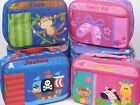 Personalised Stephen Joseph Lunch Box Boy Girl Child Nursery School Any Name