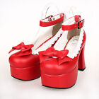 #9813 Sweet Gothic Punk KERA LOLITA shoes DOLLY Punk platform shoes 8cm heel