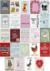 100% Cotton Comical Humorous Tea Towels Kitchen Keepsakes