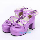 #9803 Sweet Gothic Punk KERA LOLITA shoes DOLLY Punk platform shoes 8cm heel