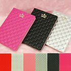 Luxury Crown Smart Leather Case Stand Cover for iPad 2 3 4 5 6 AIR 2 MINI 1 2