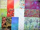 2 x A4 Animal/Floral/Patterned/Butterfly 14 Options Backing Paper NEW