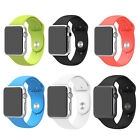 Strap Bracelet Band Rubber Fitness Replacement For Apple Watch 38mm/42mm