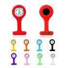 fashion silicone nurses quartz brooch fob watch uk