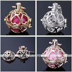 Love Heart Chime Bola Cage Harmony Pregnant Wish Pendant Fit Ball Necklace DIY