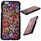 Disney All Characters Metallic Protector Hard Case Cover For iPhone 6 6 Plus