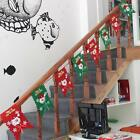 New Santa Claus/Snowman Christmas Hanging Banner Flag Christmas Decorations - LD