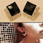 1 Pair Fashion Jewelry Womens Elegant Crystal Rhinestone Ear Stud Earring AU91