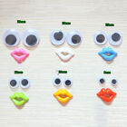 Round Mixed Wiggly Wobbly Googly Eyes For DIY Scrapbooking Crafts jruk