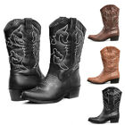 SheSole Ladies Cowgirl Cowboy Western Boots Wedding Dress Shoes