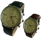 C6 US Mens Casual Quartz Watch Hot Sale  Stainless Steel Military Display Cheap