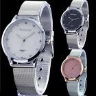 Luxury Women's Stainless Steel Bracelet Mesh Quartz Dress Fashion Wrist Watch