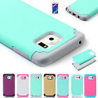 For Samsung Galaxy Note 4/5 S6 Edge + Plus Shockproof Slim Hybrid TPU Case Cover
