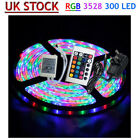 5M 10M 15M 20M Waterproof 300 LED 3528 RGB SMD Strip Light +24keys IR + Adapter