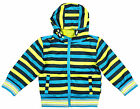 Boys Toddler Mesh Lined Lightweight Striped Hooded Jacket 2 3 4 5 6 Years NEW