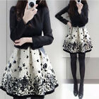 NEW fashion Women's Clothing winter big size long-sleeved dress