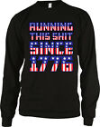 Running This S**t Since 1776 America Patriotic Pride USA Long Sleeve Thermal