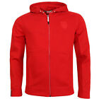 Puma Ferrari Hooded Sweat Jacket Zip Up Mens Jumper Red (568427 02 U30)