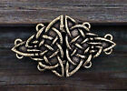 Triangular Celtic Knot Cloak Clasp Celtic Cape Clasps | Fine Pewter Made in USA