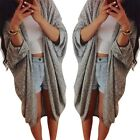 Women Oversized Long Sleeve Sweater Coat Knitwear Casual Cardigan Jacket Autumn