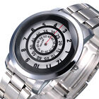 New PAIDU Fashion Lots Circles Luxury Stainless Steel Analog Quartz Wrist Watch