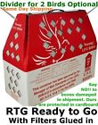 Bird Shipping Boxes Horizon (5pk) Live Bird Poultry Gamef...