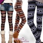 ♥Warme Kinder-/ Damen-Herbstleggings Winterleggings  Größe 32-36+NEU+SOFORT♥