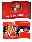 OFFICIAL SUNDERLAND FOOTBALL CLUB FLAGS 1.5m x 0.9m