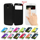 Flip Leather Case Cover Accessories For Samsung Galaxy S4 i9500 New RD