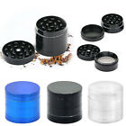 Metal 4 Layers Hand Muller Kitchen Herb Spice Tobacco Grinder Crusher New