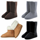 US 6 7 8 Womens Winter Casual Warm Faux Fur Ankle Snow Flat Boots Princess Shoes