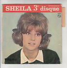 SHEILA Vinyle 45T EP 3e Disque PENDANT Les VACANCES -HULLY GULLY -PHILIPS 432931