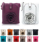 Flower Small Cross Body Purse Bags Ladies Women's Fashion Quality Handbags Bag