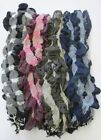 90496- Ladies Scarf Collection Ruffled Detail 4 Colours- Great Price!