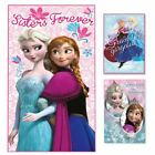 K118 GIRLS DISNEY FROZEN PRINCESS ELSA ANNA DESIGN FLEECE BLANKET THROW BEDDING