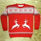 Classic Ugly Christmas Sweater New! Throwback Knit Super Soft and Cute