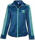 Adidas Originals Women's Europa Track Jacket-Teal