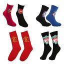 OFFICIAL FOOTBALL CLUB CHAUSETTES Enfant & Adulte Chaussure Tailles Disponibles