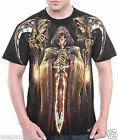 Limited RC Survivor T-Shirt Sz M L XL 2XL Scythe Sword Grim Reaper Tattoo C192