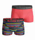 Björn Borg 154163-105032 90011 2-Pack Mens Boxers Tribal Ink/Red