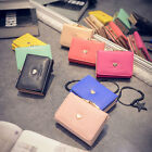 Fashion Womens Ladies Leather Short Wallet Bifold Purse Handbag Coin Money Bag